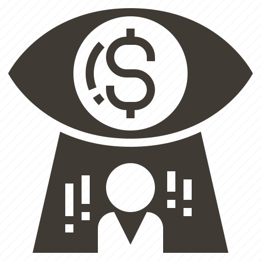 advertising, business, e-commerce, marketing, money, payment, vision icon