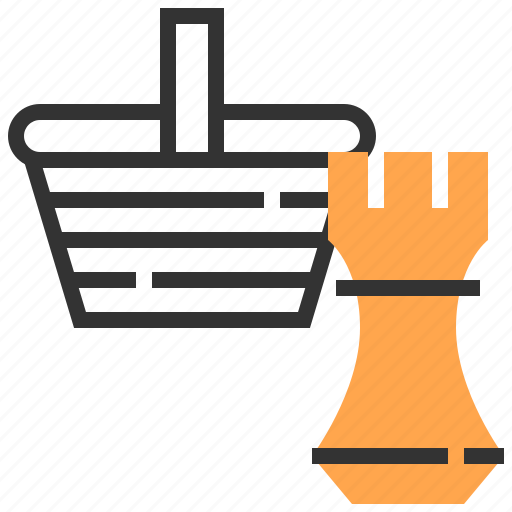 advertising, basket, commerce, marketing, payment, strategy icon