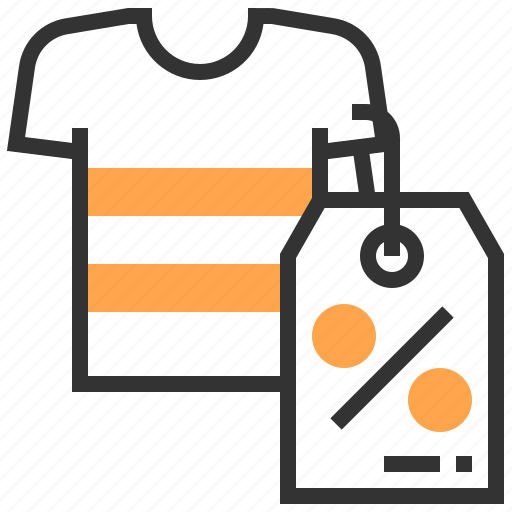 advertising, clearance, commerce, marketing, sale, shirt, strategy icon