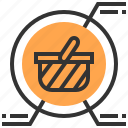 advertising, analysis, basket, commerce, marketing, payment, strategy icon