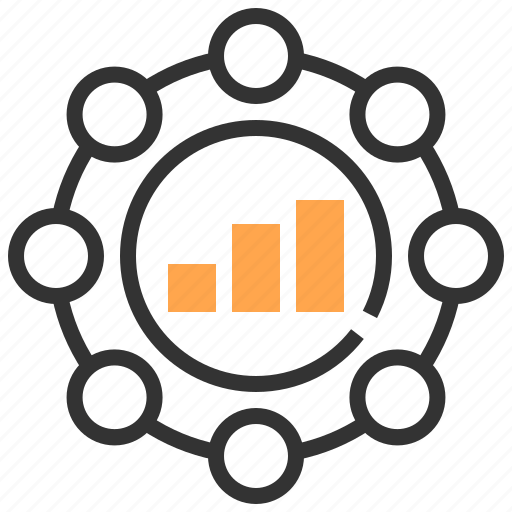 advertising, charts, commerce, management, marketing, payment, strategy icon