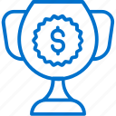 award, business, cup, finance, money, prize, success icon