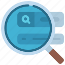 analyse, search, results, analysis, ranking