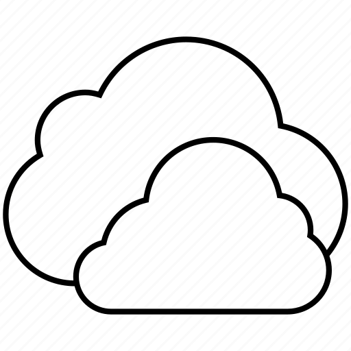 clouds, data, fog, rain, sync, weather icon