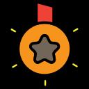 award, batch, marketting icon