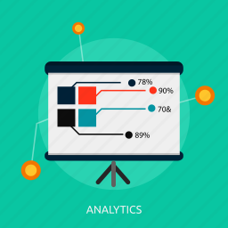 analytics, business, concept, management, marketing, research icon