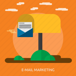 advertising, business, delivering, e-mail, marketing, message, promotion icon