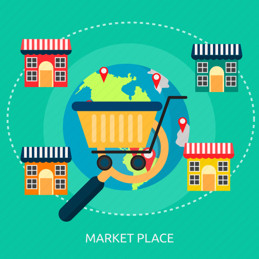 advertising, business, e-commerce, market, marketing, online icon