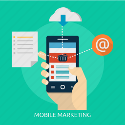 e-commerce, marketing, mobile, mobility, sign, technology icon