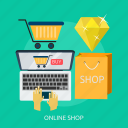 business, e-commerce, marketing, money, online shopping, shopping icon