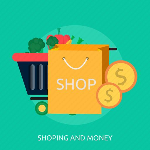 box, e-commerce, money, shopping, sign, strategy, web icon