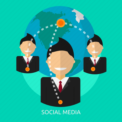 business, communication, connection, internet, media, network, relationships icon