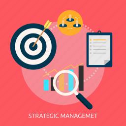 analytics, idea, management, strategic, strategy, success icon