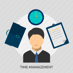 business, businessman, efficiency, manager, professional, time icon