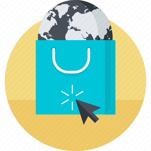 business, ecommerce, flat design, internet, online, sale, shopping icon