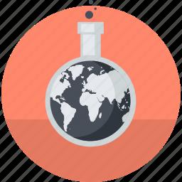 flat design, market, marketing, research, round icon