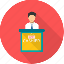 cash, cashier, payment, register, sale, shopping icon