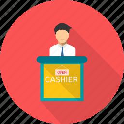 cash, cashier, payment, register, sale, shopping icon