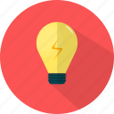 bulb, business, idea, lamp, light