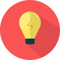 bulb, business, idea, lamp, light icon