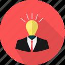 bulb, business, idea, light, lamp