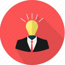 bulb, business, idea, lamp, light icon