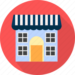 building, home, house, market, place icon