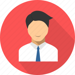 businessman, male, marketing, people, salesman, user, worker icon