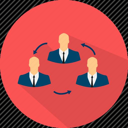 business, communication, management, media, social icon
