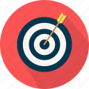 business, management, marketing, seo, target icon