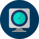 clock, management, schedule, time icon