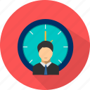 business, clock, management, time, timer icon