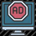 ad, blocker, promotion, advertising, blocked