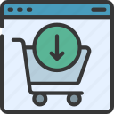 add, to, cart, ecommerce, shopping