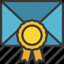 email, award, promotion, advertising, reward