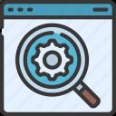 website, seo, search, engine, optimisation, loupe