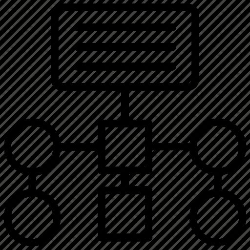 Marketing plan, planning network, program plan, project management icon - Download on Iconfinder