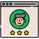 avatar, experience, profile, user icon