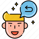 favorite, feedback, rating, review icon