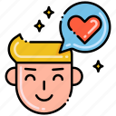 chat, text, reviews, discuss icon