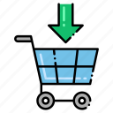 cart, ecommerce, online, shopping