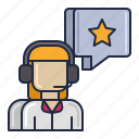 crm, customer, service, support icon