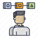 experience, interface, profile, user icon