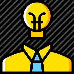 business, finance, idea, marketing icon