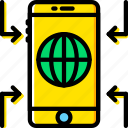 business, finance, information, marketing, mobile icon