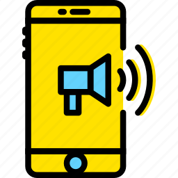 business, finance, marketing, mobile icon