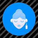 beauty, cosmetics, dress, fashion, lipstick, makeup, marketplace icon