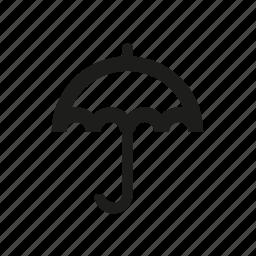 cargo, delivery, umbrella icon
