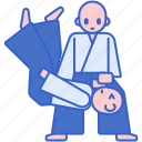 atack, goal, aikido, target icon