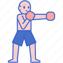 boxing, fitness, player, sport